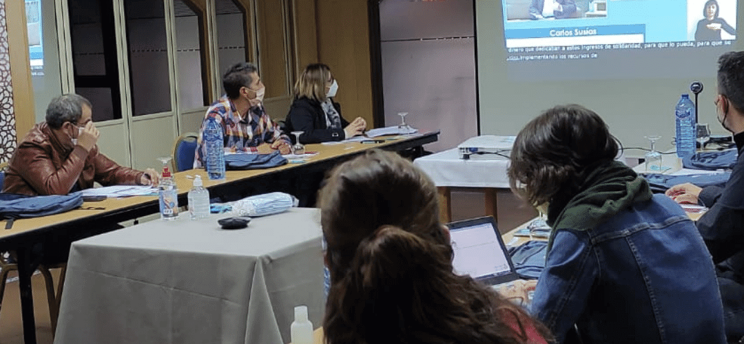 Representantes políticos y personas en riesgo de pobreza dialogan en el Encuentro Estatal de Participación de EAPN-ES